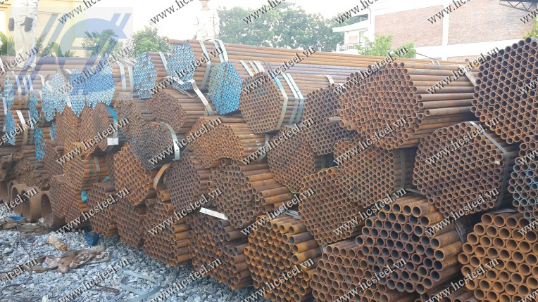 Seamless steel pipes 60 x 5.5 mm x 6m
