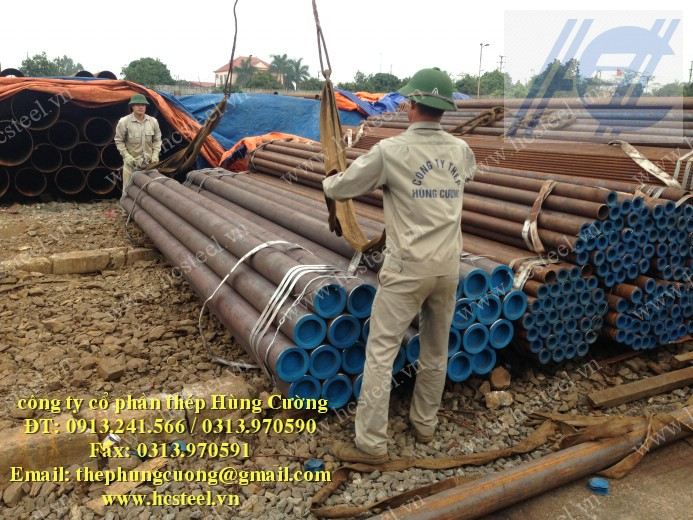 Seamless steel pipes 133 x 4mm x 6m