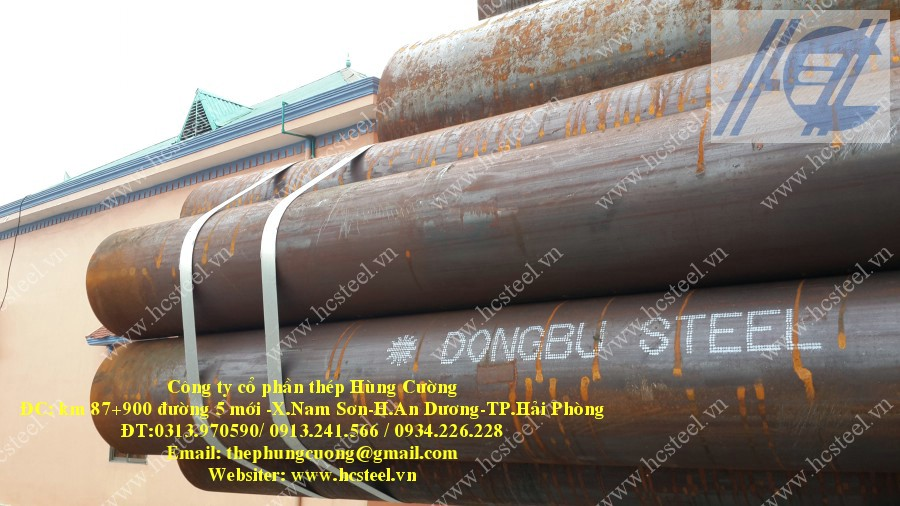 ERW STEEL PIPE 323.9 x 8.0mm x 6m