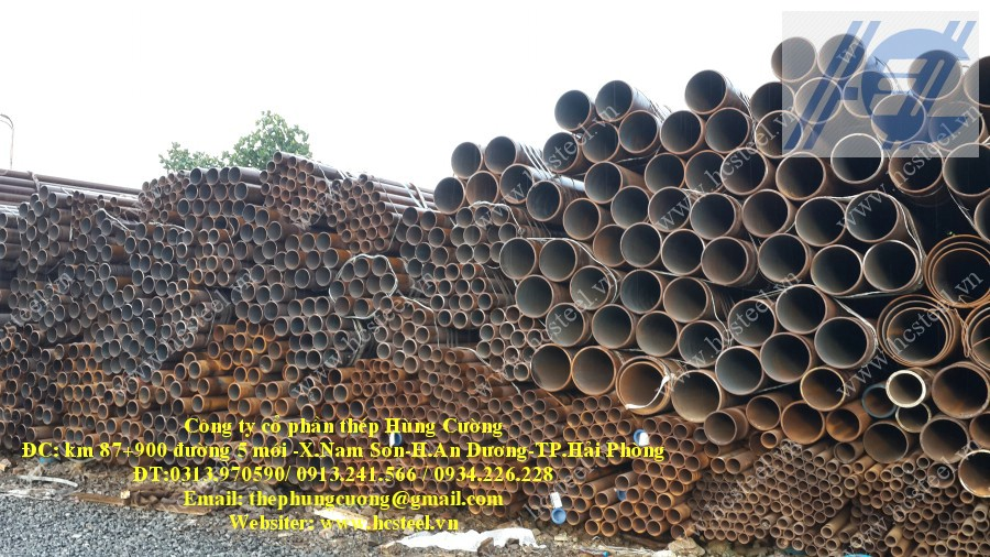 Seamless steel pipes 159 x 6mm x 6m